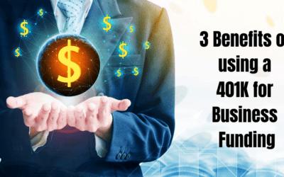 3 Benefits of 401(k) Business Funding