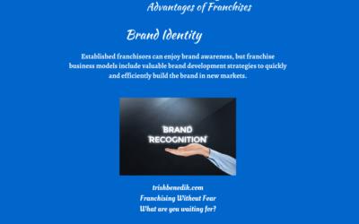 Advantages of franchise brand identity