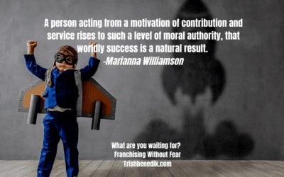 Contribution and service leads to success