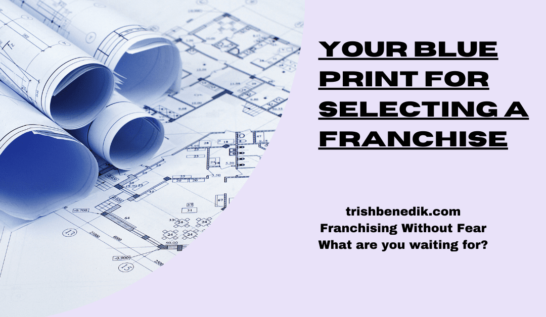 Blueprint for selecting a franchise